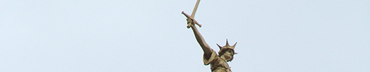 Picture of the statue of justice