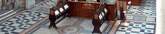 Picture of court listing sheets