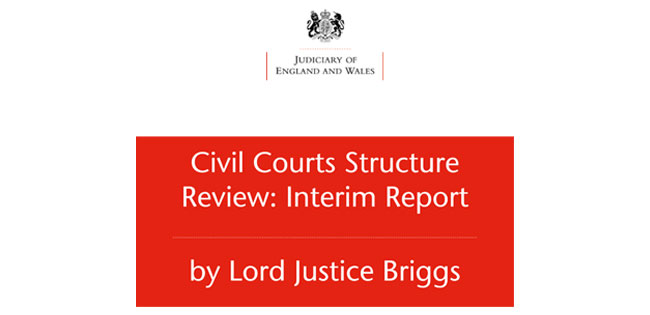 Civil Courts Structure Review: Interim report