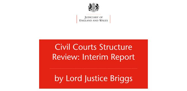 Civil Courts Structure Review: Interim report