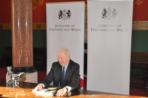 Lord Chief Justice's Annual Press Conference 2016