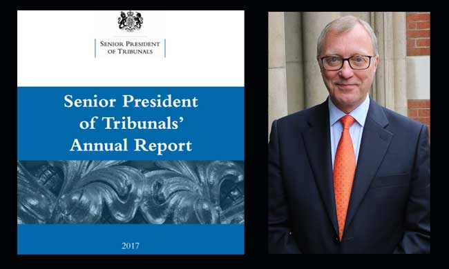 Senior President of Tribunals Annual Report 2017