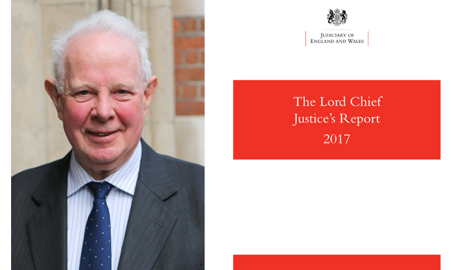 Lord Chief Justice's Annual Report 2017