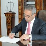 CJ Zidan signing letter of exchange for cooperation