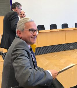 Photo of Chancellor of the High Court, Sir Geoffrey Vos