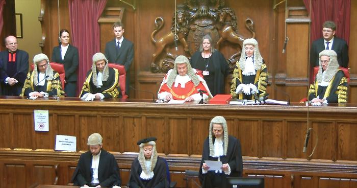 Dame Victoria Sharp is sworn in