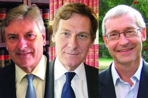Photo of Lord Justice Hamblen, Lord Justice Leggatt and Professor Andrew Burrows