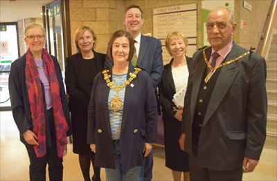 Attendees at Croydon Crown Court open day