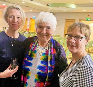 Photo of Rhiannon Jones QC, Dame Janet Smith and Mary Ruck of Byrom Street Chambers.