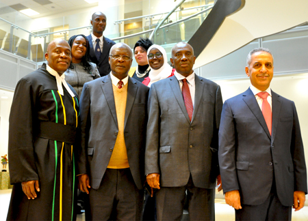 Photo of Judges from Africa, Central America, the Caribbean and the Middle East