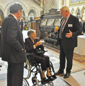 Photo of Dame Margaret Booth with the Lord Chief Justice