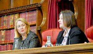 Photo of Upper Tribunal Judge Paula Gray and HHJ Sarah Venn