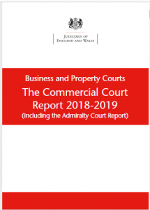 Image of Commercial Court annual report 2018-19